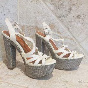 Jessica Simpson Platform Wedge Sandals